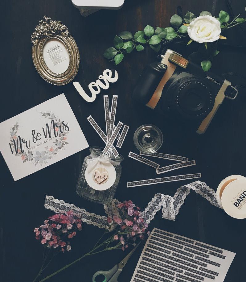 Ein paar Geschenkideen zur Hochzeit // {Freebies!}