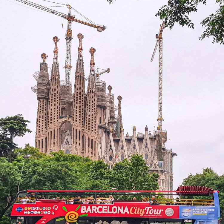 Unser Besuch der Sagrada Familia im Juni 2018