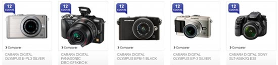 Frávega cámaras digitales profesionales
