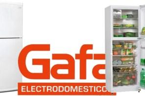Heladera con freezer Gafa