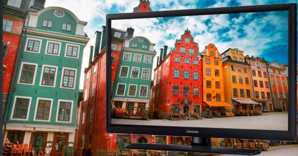 Pequeño TV LED Samsung 24 pulgadas