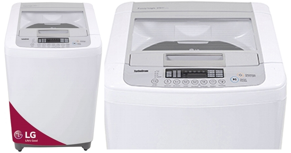 Lavarropas LG de Carga Superior de 7 kg de Capacidad