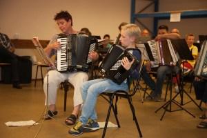 Fravino Fravinova accordion muziek orkest huijbergen Marieke de Vries