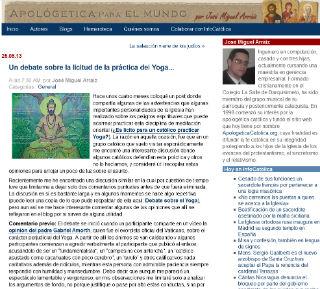 Yoga lícito?