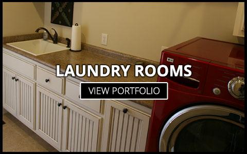 custom laundry room cabinets greenville sc