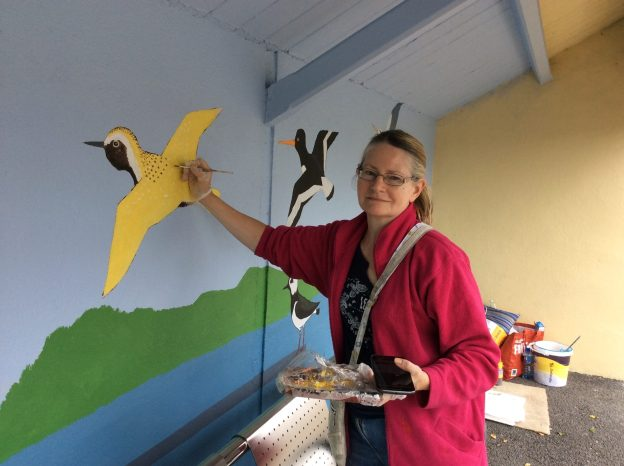 Bird Mural, Maeve O'Keeffe