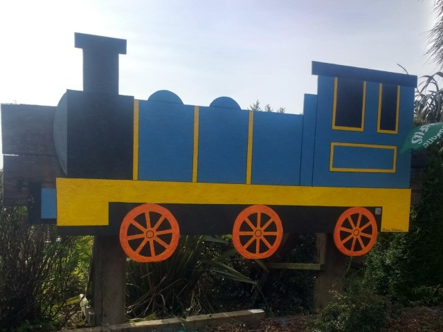 Train by illustrator Maeve O'Keeffe