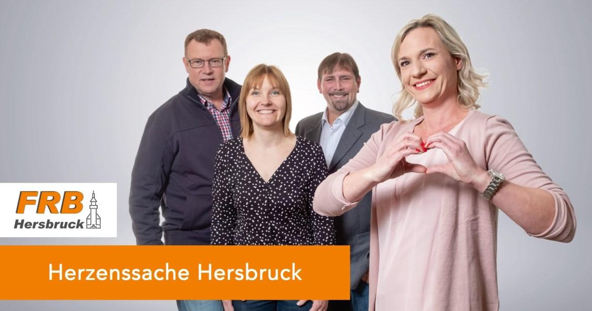 Wolfgang Schertel, Anne Karges, Manuel Neuner und Martina Höng setzen sich für die Erhaltung der Artenvielfalt in Hersbruck ein.