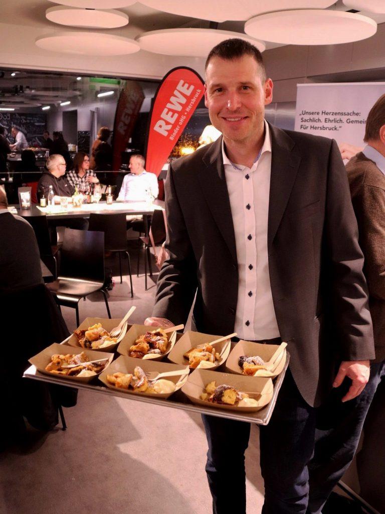 Show-Cooking in der Fackelmann Welt Hersbruck: Marco Scharrer