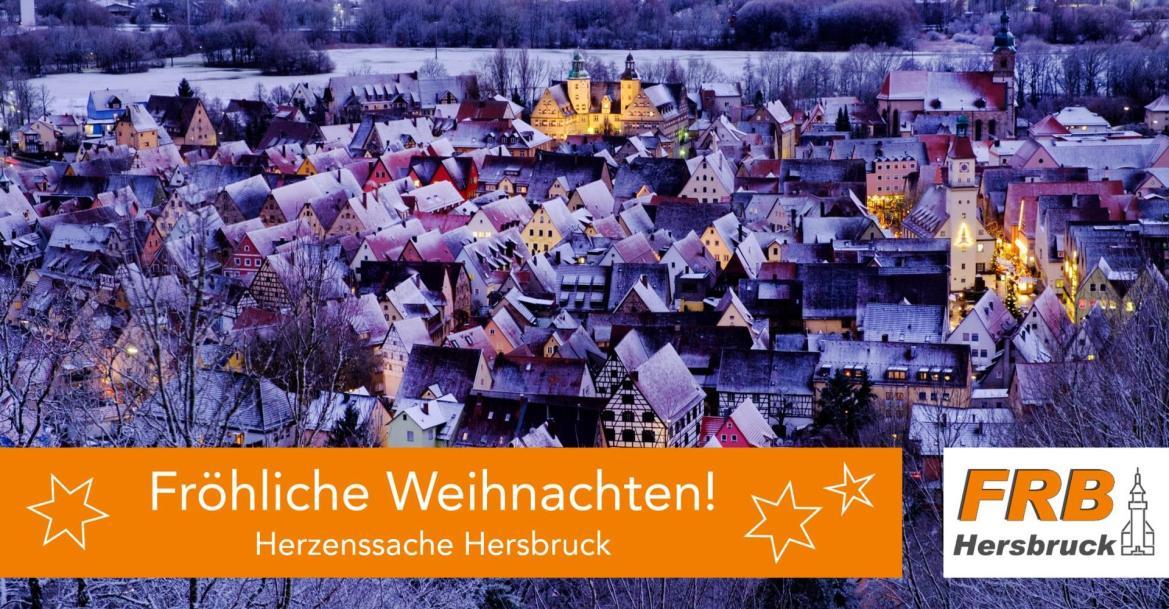 Wir wünschen Ihnen fröhliche Weihnachten!