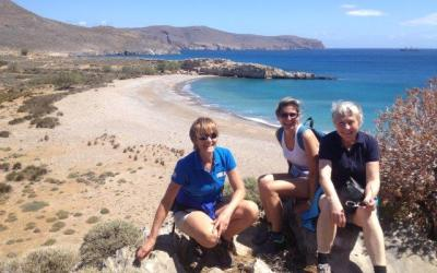 8 day hiking week East Crete
