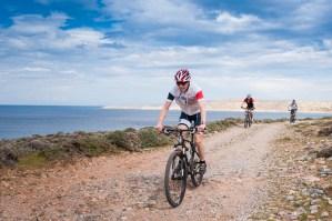 Freak Mountainbike Centre - riding along the coast line