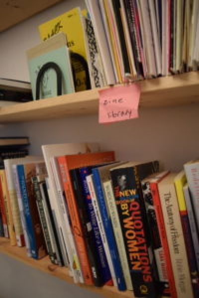 Double Union - zine library