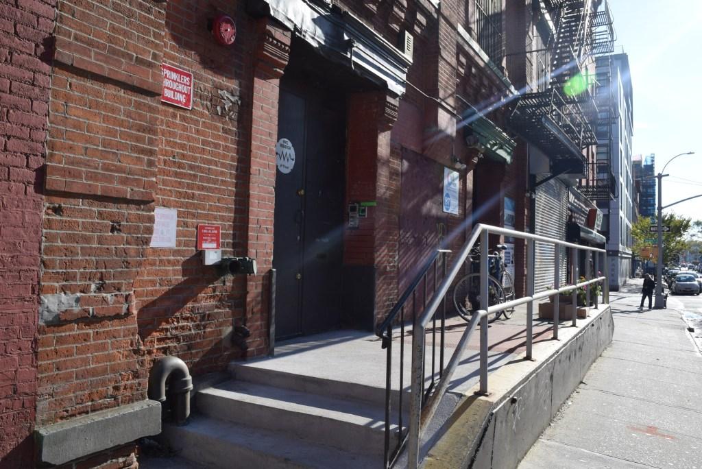 NYC Resistor entrance