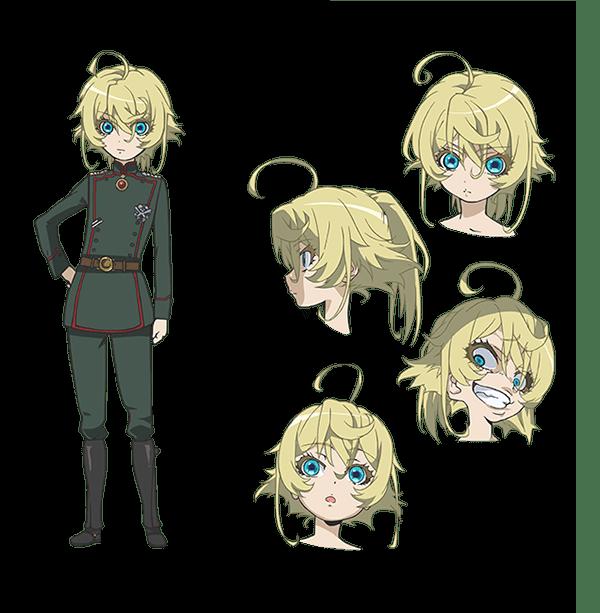 Character Design Tropes : Primeras impresiones youjo senki tanya la maligna