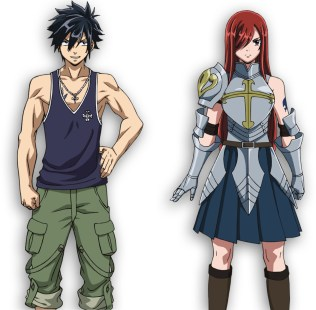 Fairy Tail Dragon Cry: Gray y Erza
