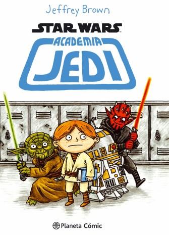 Sobrecubierta Academia Jedi