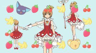 Cardcaptor Sakura Clear Card 17 traje rojo