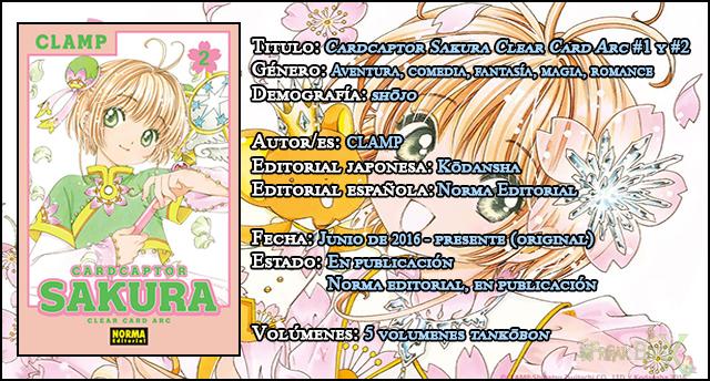Cardcaptor Sakura Clear Card Arc #1 #2