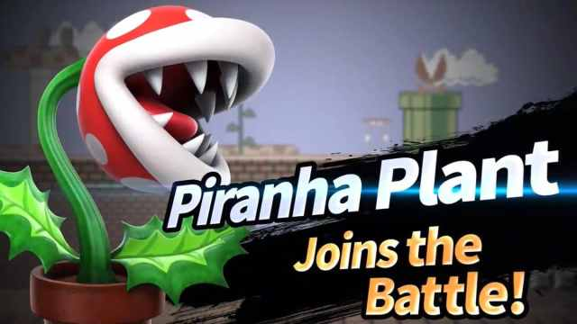 Planta Piraña en Super Smash Bros. Ultimate