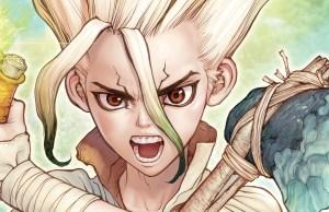 Dr. Stone anime imagen destacada