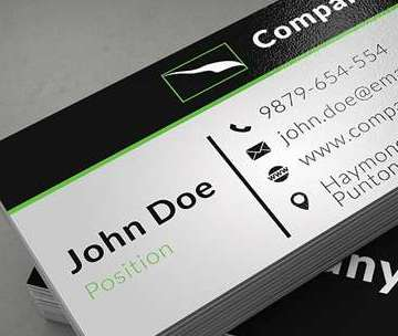 Grabs Full Pixels » 15 Free Business Cards PSD Templates   Freakify com Clean Corporate Business Card Template