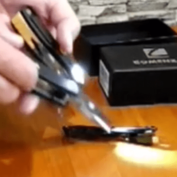 Comenzar Multi Tool with Rechargeable LED Light Review