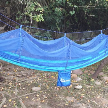 Reversible Camping Hammock with Mosquito Net Review