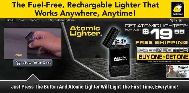 Atomic Lighter, Lighter, Lighters