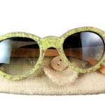 organic musk wooden sunglasses