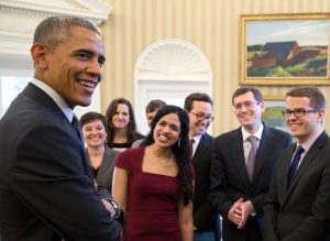 President Obama and the SBST team