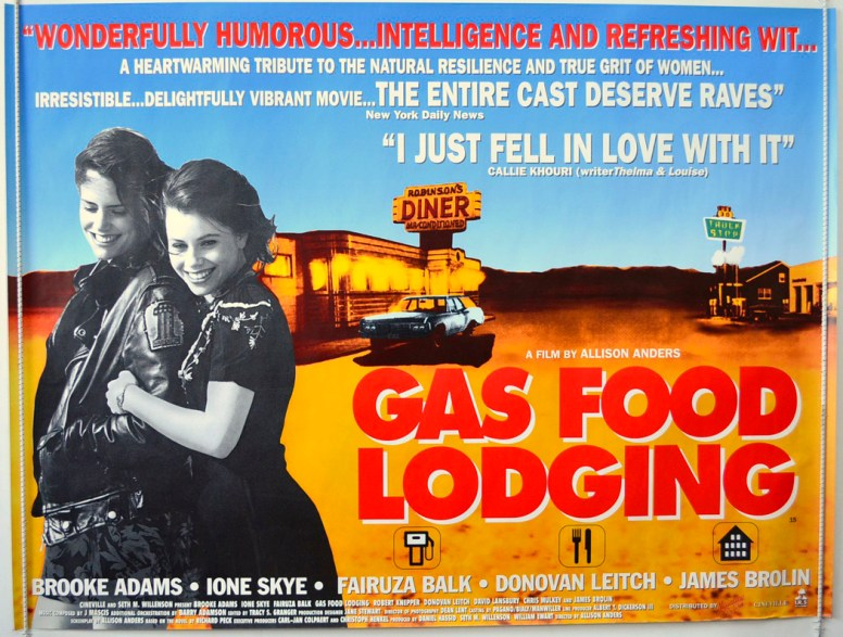 Gas Food Lodging Poster