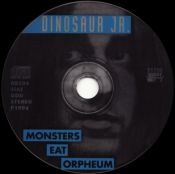 Monsters Eat Orpheum CD