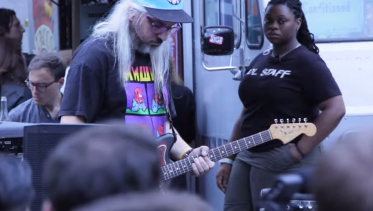 J Mascis with Love as Laughter 2013