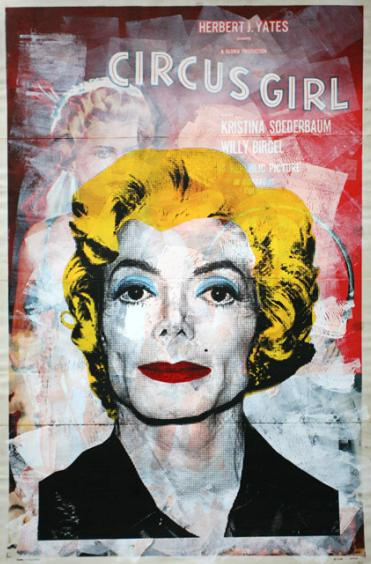 Mr Brainwash - Michael Jackson - Circus girl