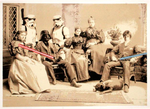 Mr Brainwash - Star Wars
