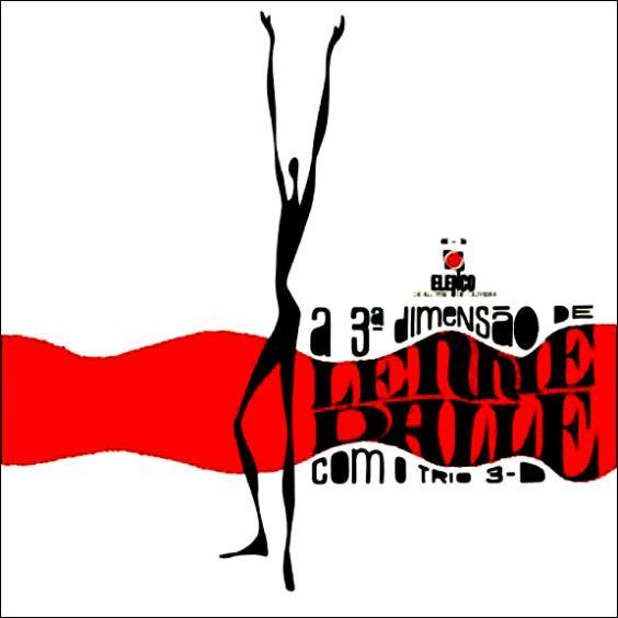 1967 - Elenco - A terceira dimensão de Lennie Dale com o trio 3-D