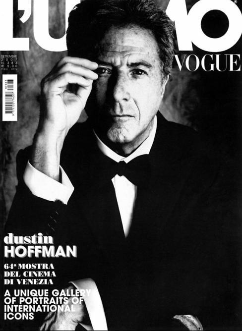 Tom Munro - L'uomo Vogue - Dustin Hoffman