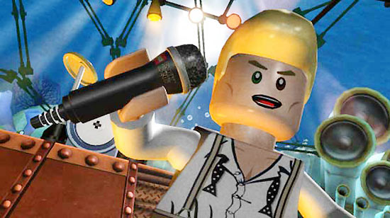 David Bowie Lego Rock Band