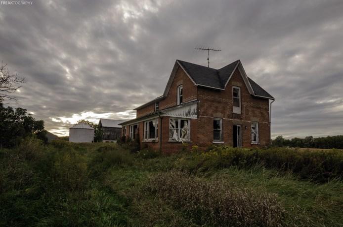 Abandoned Ontario Farmhouse