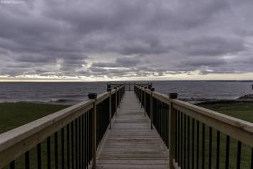 Lake Ontario from Burlington, Ontario