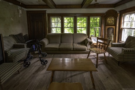 Abandoned Ontario Time Capsule House