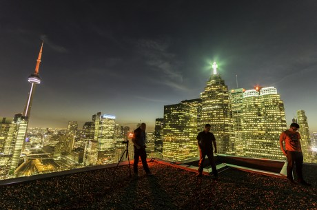 Toronto Rooftopping Photography Freaktography
