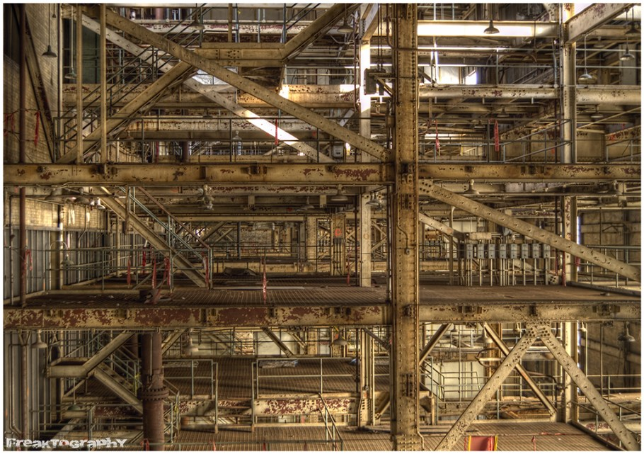 Power Plant abandoned in Toronto