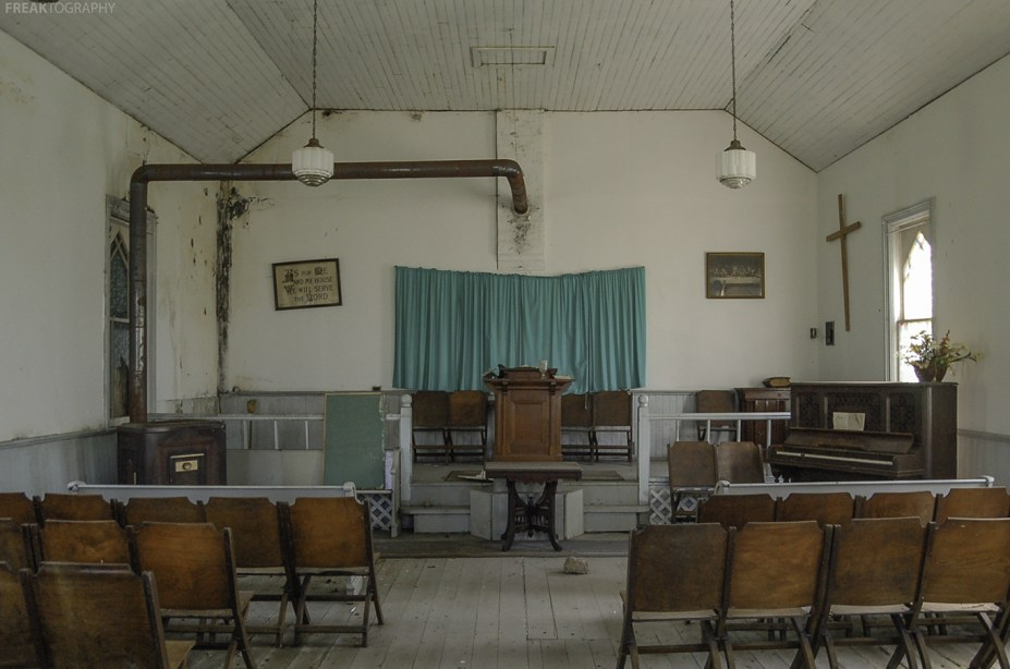 How this church looked in August 2012