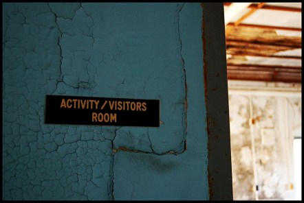 Abandoned insane asylum