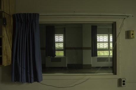 Ontario Abandoned Psychiatric Hospital Freaktography Curtain