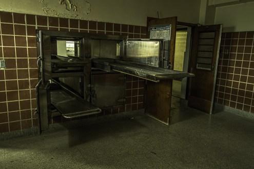 Ontario Abandoned Psychiatric Hospital Freaktography Morgue Trays