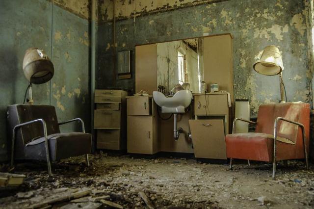 photography prints of Freaktography Abandoned Insane Asylum