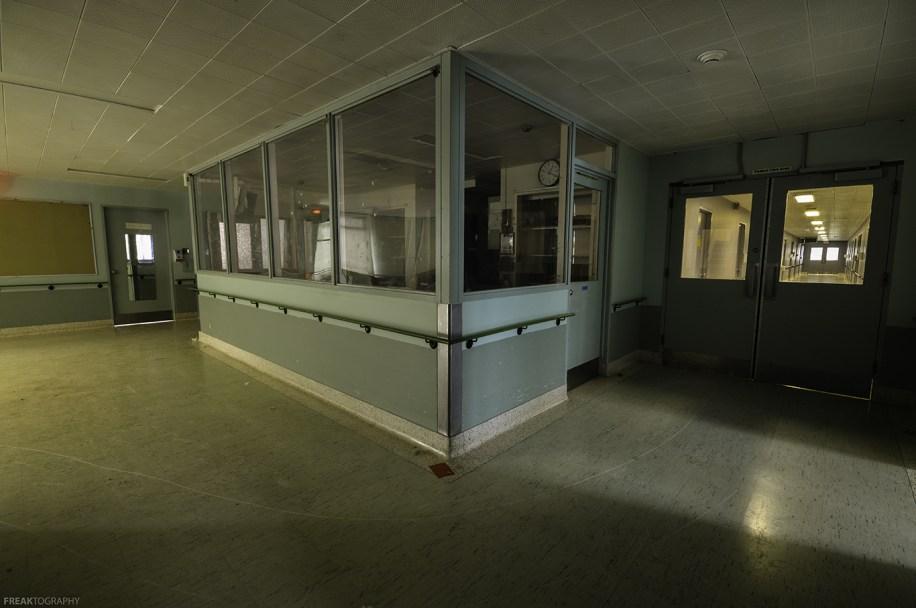 Vacant Psychiatric Hospital